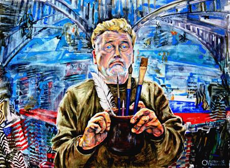 История, теория и практика живописи, современной и не очень.