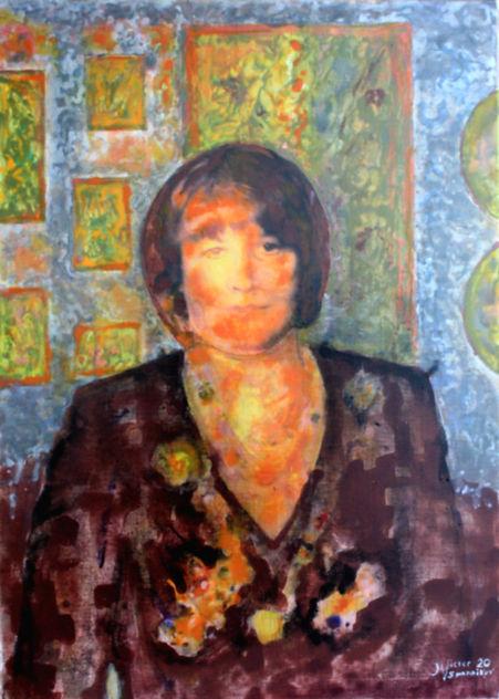 Ольга. Портрет жены. Portrait of my wife.