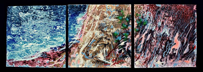 Three elements (triptych). Три стихии (триптих)