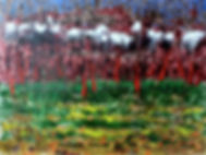 Landscape after the battle. Пейзаж после битвы.