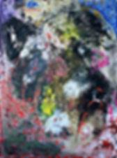 Варфоломеевская ночь. Акрил на холсте, 60х80 см, 2019
