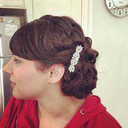 Hair & makeup for a bridesmaid  #melbournemakeupartist #makeupartist #naturalmakeup #bridalhair #bri