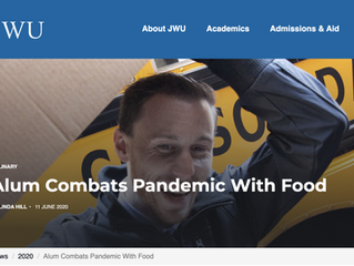 Alum Combats Pandemic With Food