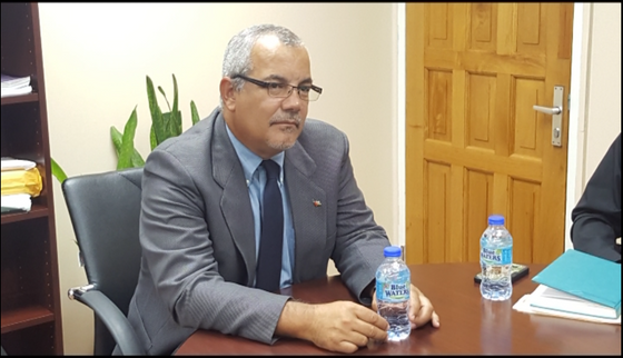 Cuban Ambassador Pays Visit to Minister of Health