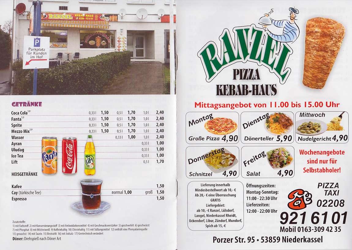 Ranzel PizzaKebab-Haus