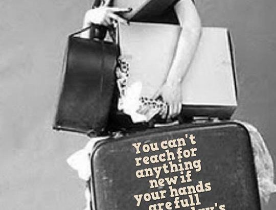 Want to know how to get rid of baggage?