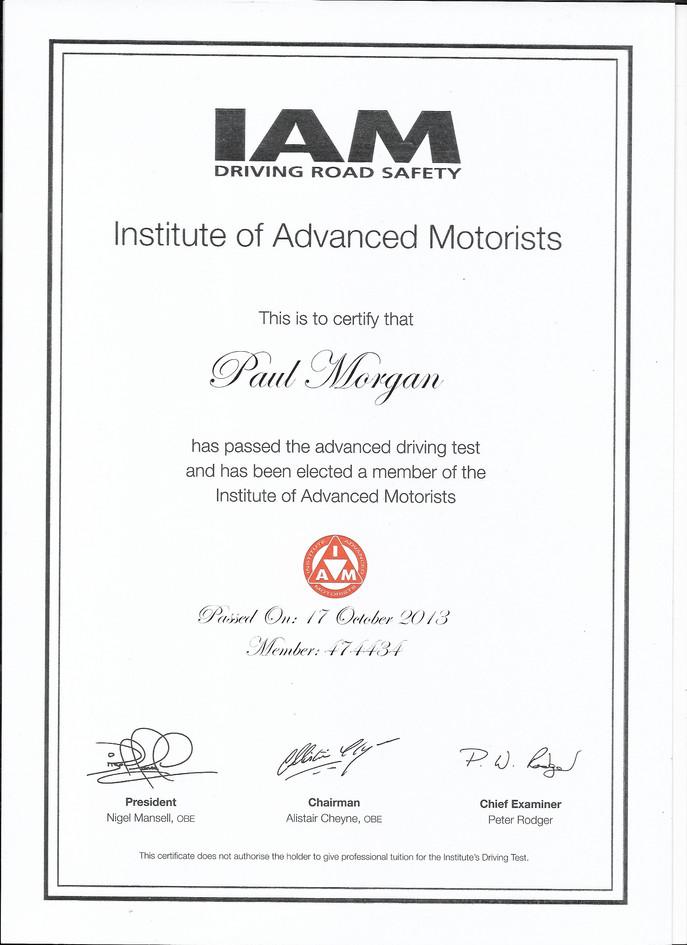 Institute of Advanced Motorists