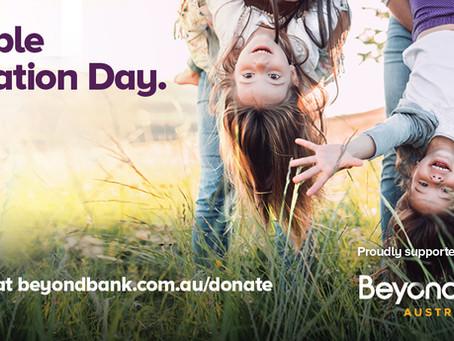 Double Donation Day - 9 November
