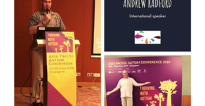 Andrew Radford's Singapore Success