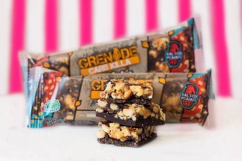 Grenade Carb Killa 'Go Nuts' Bar - Salted Peanut