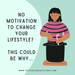 No Motivation To Change Your Lifestyle? - This Could Be Why....