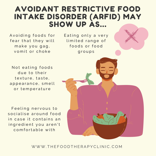 Does the taste or texture of certain foods make you feel uncomfortable?
