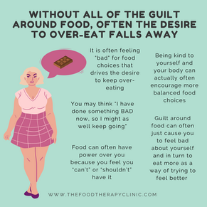 Is Food Guilt Causing You To Over-Eat?