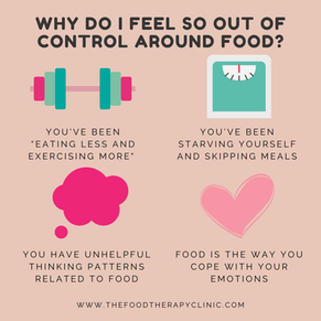 Why Do I Feel Out Of Control Around Food?