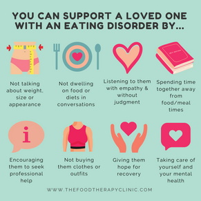 How to help a loved one with an eating disorder