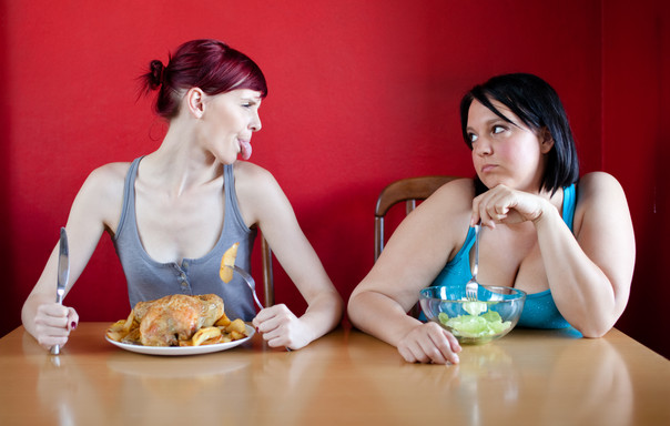 Why can some people eat whatever they want...and not put on weight?