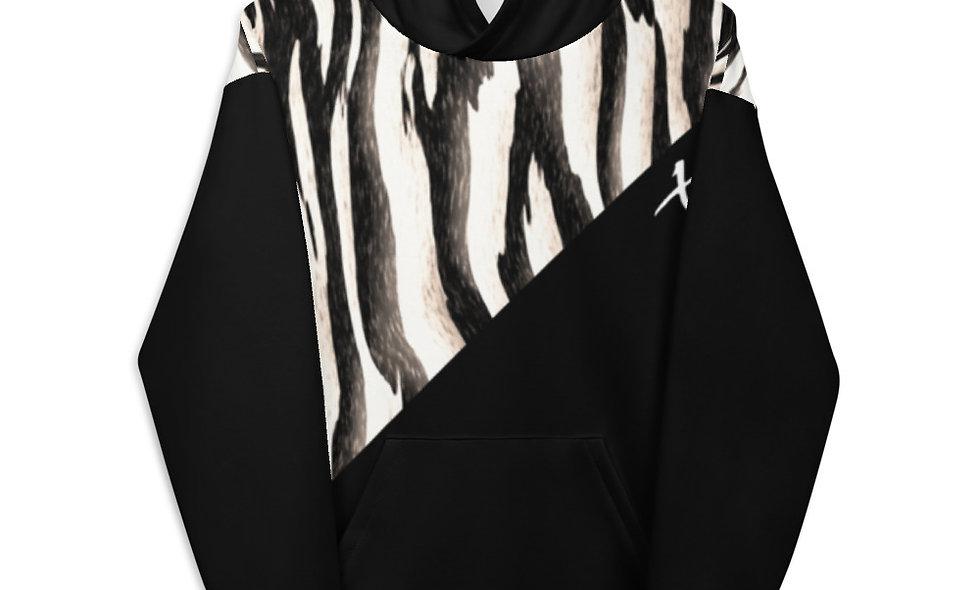 Zebra Print Unisex Hoodie