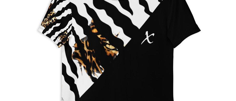 Mix Print Athletic T-shirt