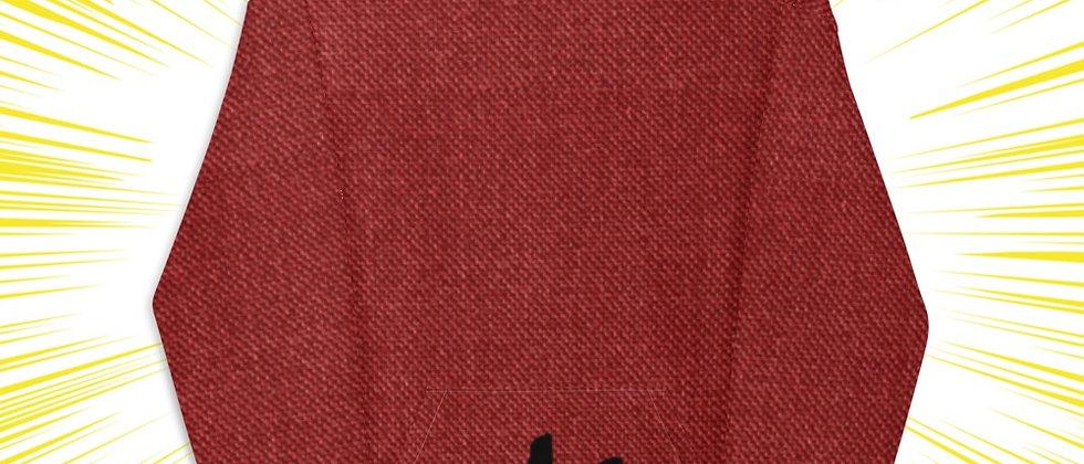 Dark red Unisex Hoodie