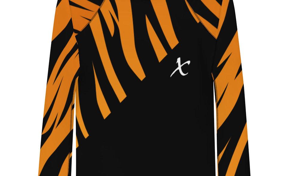 Tiger Print Rash Guard