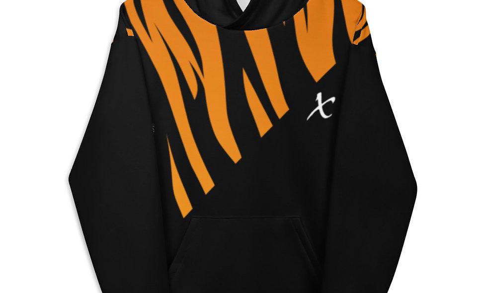 Tiger Print Unisex Hoodie