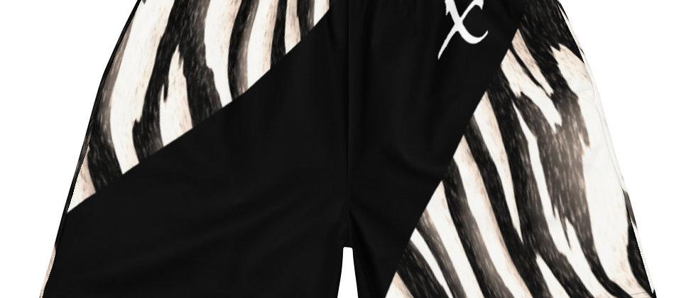 Zebra Long Shorts