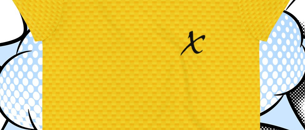 Yellow Crop Tee