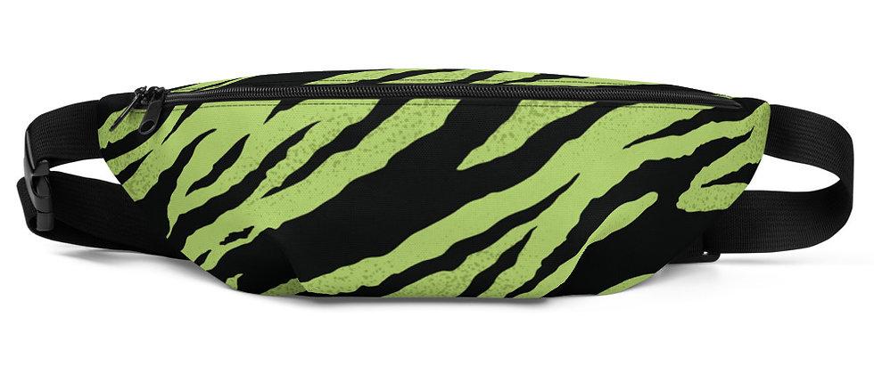 Green tiger Fanny Pack