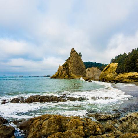 Railto Beach, Washington