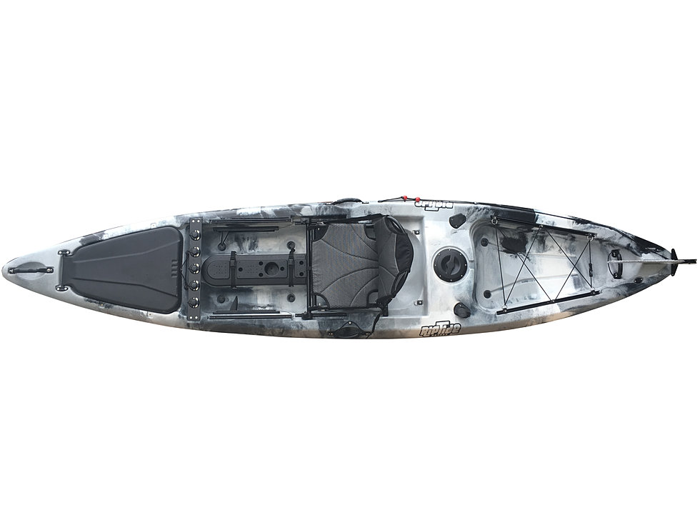 SOLD – Used 14′ Paluski Riptide Kayak (Yellow & Purple ... |Riptide Kayak