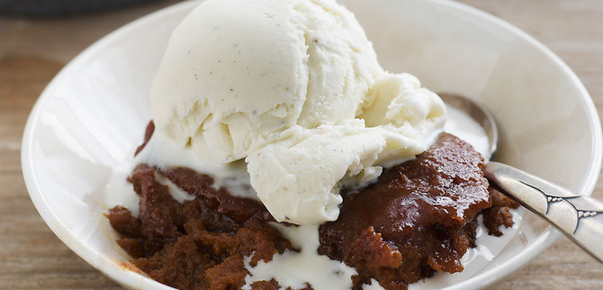 Ice Cream and Brownies