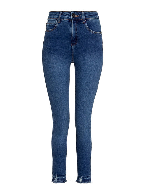 Calça Paula capri LA (jeans médio)