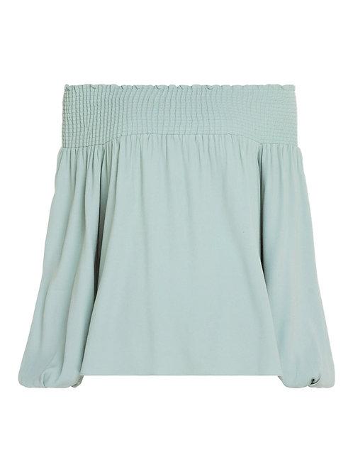 Blusa Aline I (verde menta)