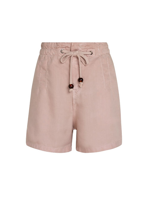 Shorts Maria tencel (rosa claro)