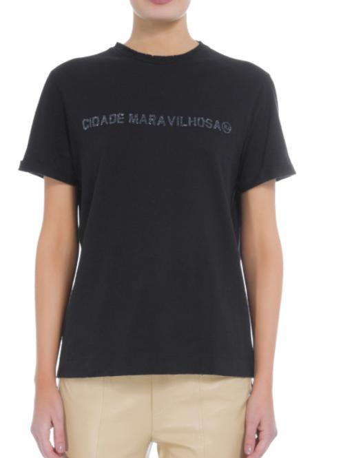 T-shirt cidade maravilhosa (preto)