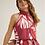 Thumbnail: Vestido estampado cava americana (vermelho)