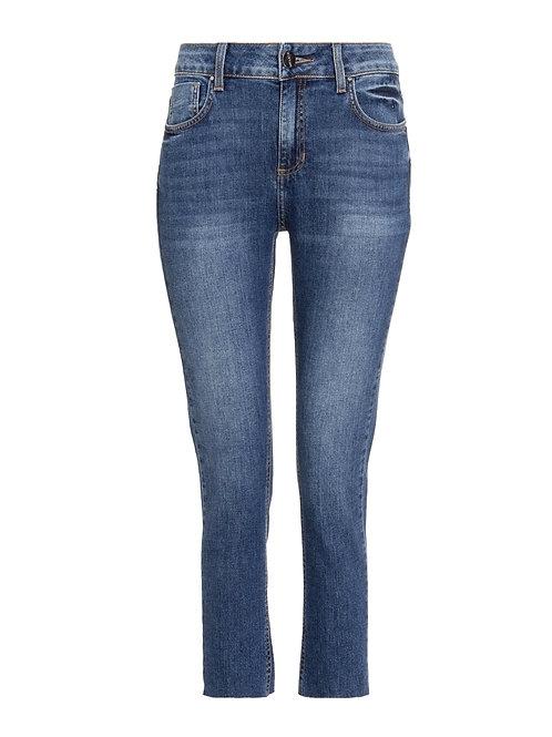Calça paula skinny jeans médio