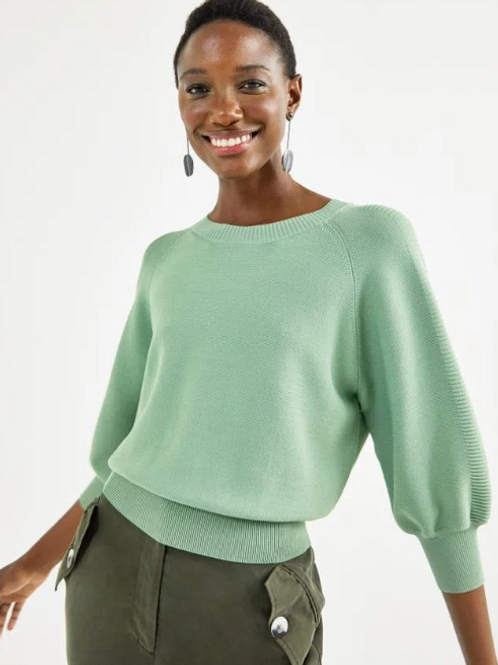 Blusa Tricot Detalhe (verde)