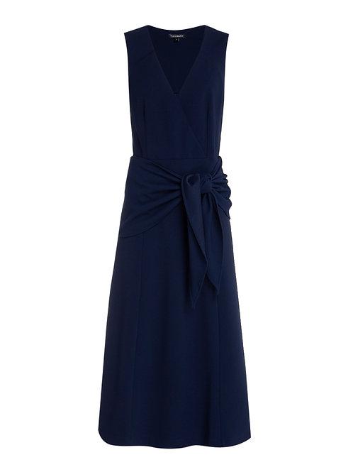 Vestido  Vanda (azul marinho)