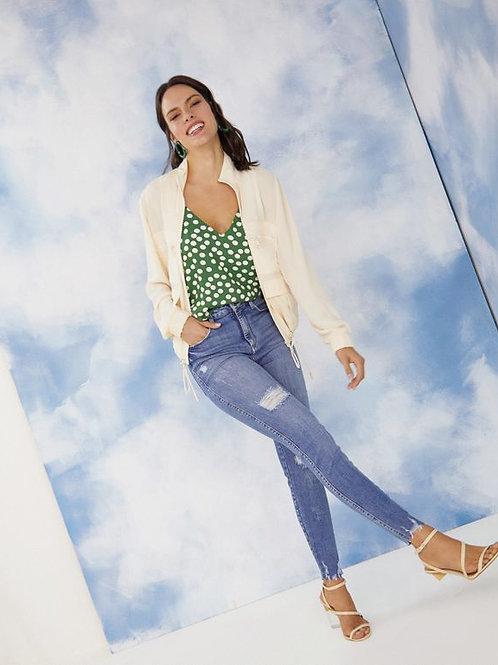 Calça jeans media