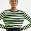 Thumbnail: Blusa Tricot Listras Lurex (verde)