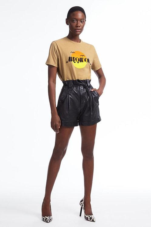T-shirt Arpoador (marrom ouro)
