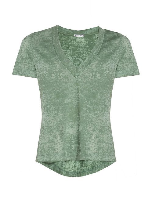 Blusa devore VII (verde)