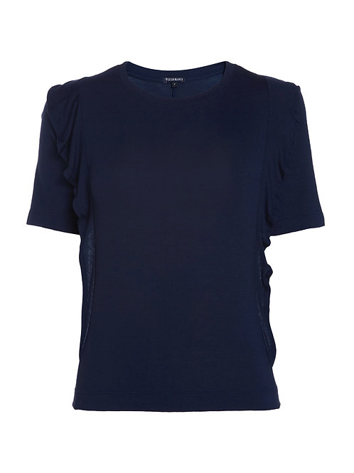 Blusa Polly II (azul marinho)