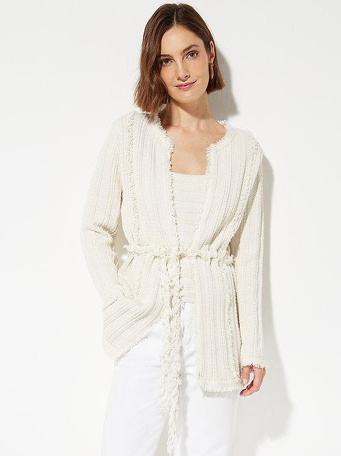 Casaco Tweed Manu (off White)