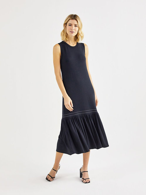 Vestido  Malha Maria (preto)