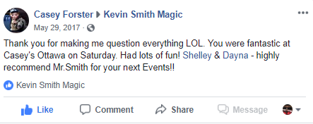 Kevin Smith Magic Review