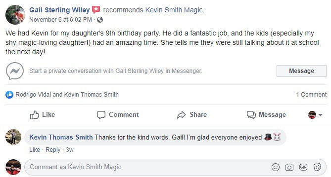 Kevin Smith Magician Review