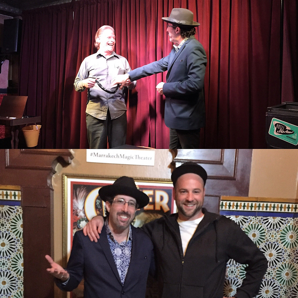 Jay Alexander at the Marrakech Magic Theater