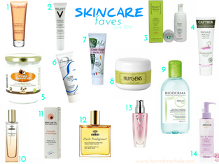 SKINCARE faves | june 2016